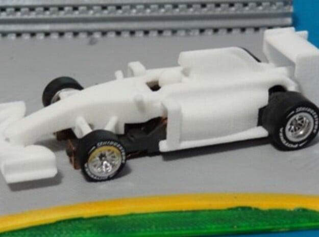HO Formula 1 2016 Body in White Natural Versatile Plastic