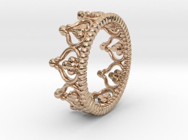 """Diadem"" Crown Ring"