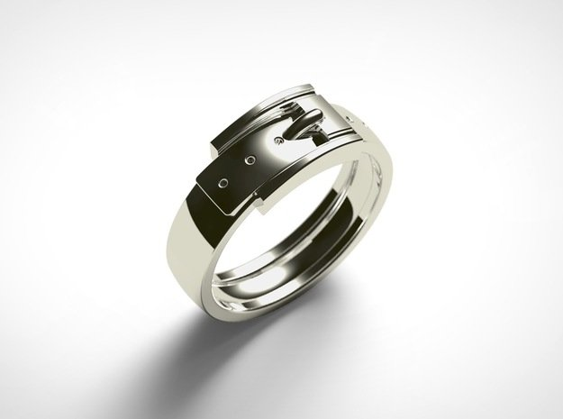 Buckle Ring (Sizes 1 - 11.5) (Customisable)