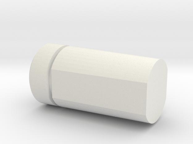 Pioneershell in White Natural Versatile Plastic