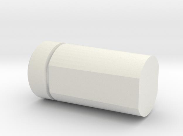 Pioneer (repaired) in White Natural Versatile Plastic