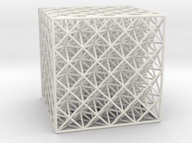 Octet Truss Cube (4x4x4)
