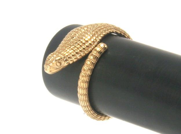 Cobra Ring US4 / Fountain Pen Roll-stopper 15 mm