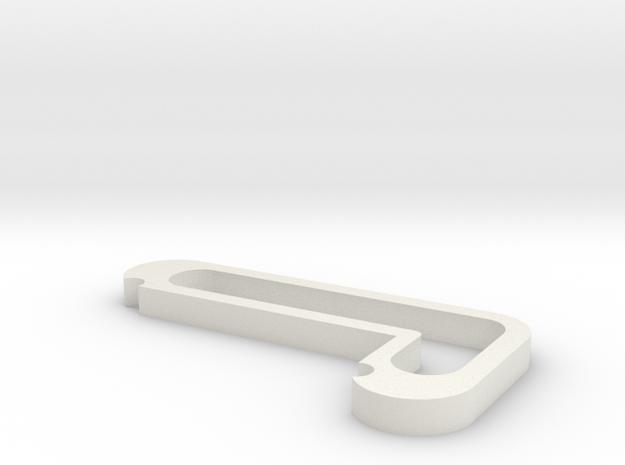 Spot Holder in White Natural Versatile Plastic