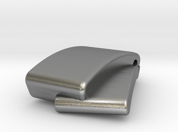 Classic Pendant in Natural Silver