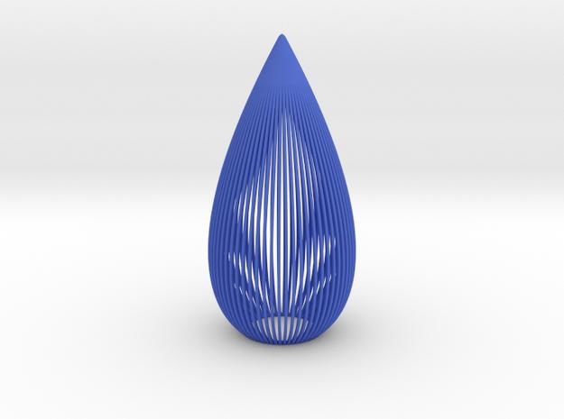 Tear Candle Light in Blue Processed Versatile Plastic