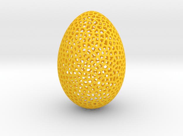 Egg Veroni in Yellow Processed Versatile Plastic