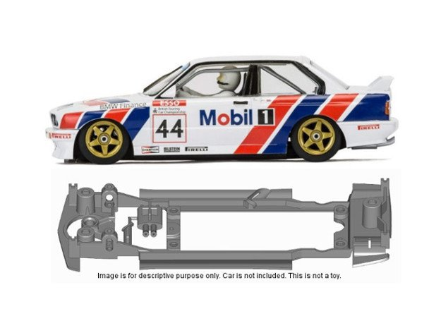 S14-ST4 Chassis for Scalextric BMW E30 SSD/STD