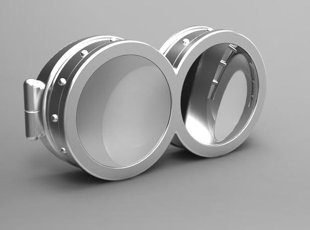 Minion Eyeware in White Natural Versatile Plastic