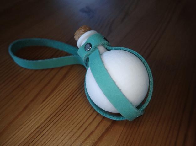 Fiole in White Natural Versatile Plastic