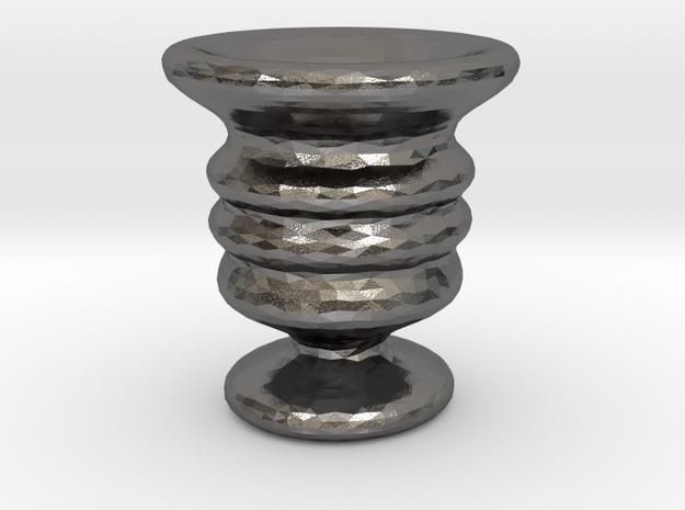 Tiny Vase in Polished Nickel Steel