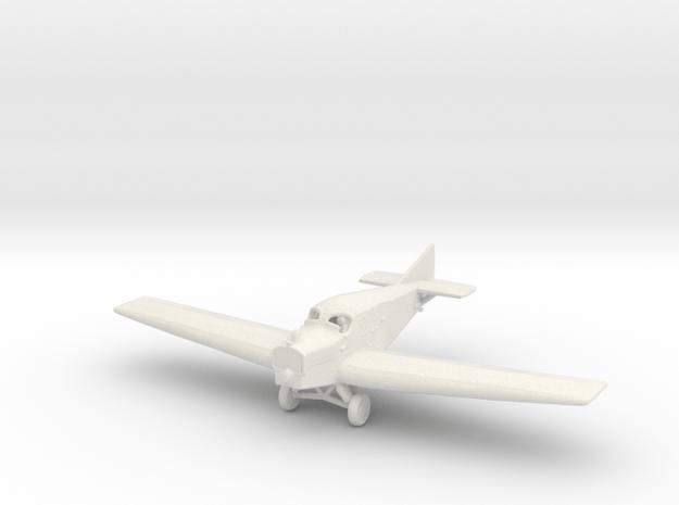 Junkers F.13 (wheels) in White Natural Versatile Plastic: 1:200
