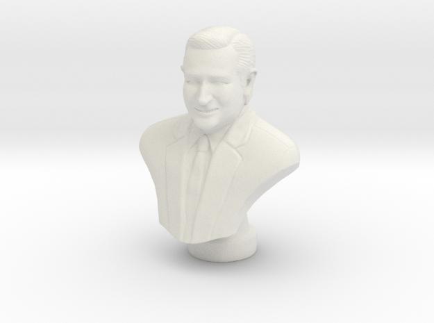Ted Cruz  in White Natural Versatile Plastic