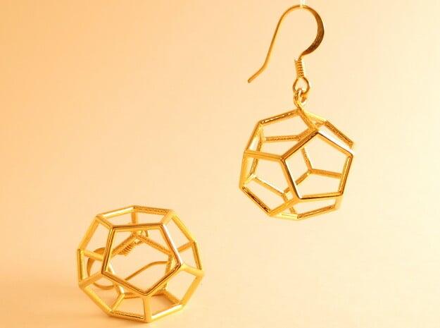 Heaven earrings in 18k Gold Plated Brass