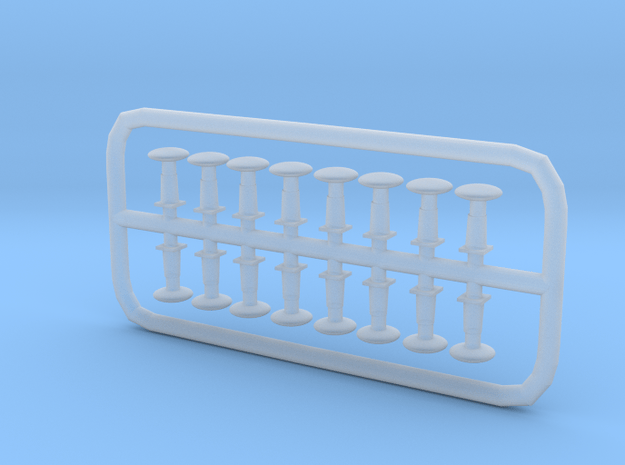 NTB1 - VR Tait Buffers N Scale in Smooth Fine Detail Plastic