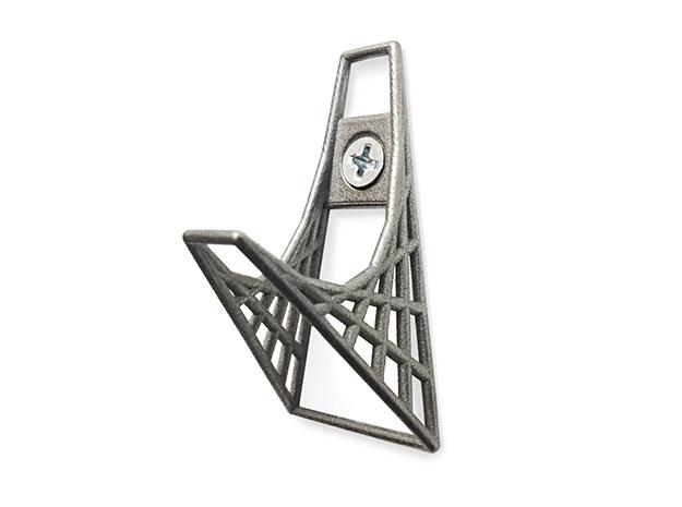 Parabolic Hook in Polished Nickel Steel