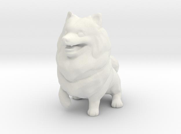 Noni Dog in White Natural Versatile Plastic