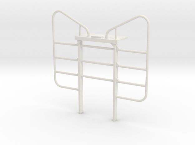 1/16 Peerless Logger Headache Rack in White Natural Versatile Plastic