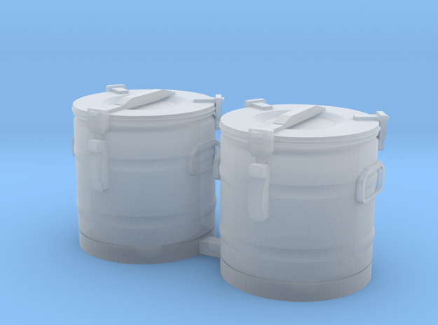 S2-301   Essenkübel in Smooth Fine Detail Plastic