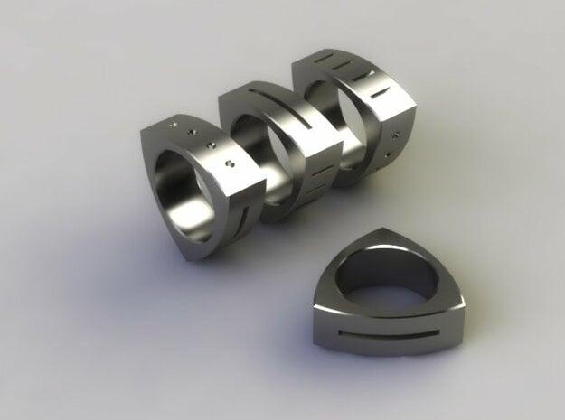 Triton in Polished Nickel Steel