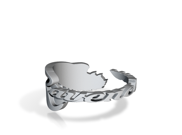 Ravenclaw Ring in Polished Bronzed Silver Steel: 9 / 59