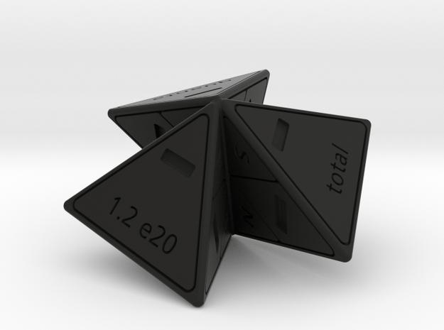 Lepton model in Black Natural Versatile Plastic: Polyhedral Set