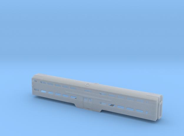 N Scale MILW/CRIP Budd Bilevel Cabcar in Smooth Fine Detail Plastic