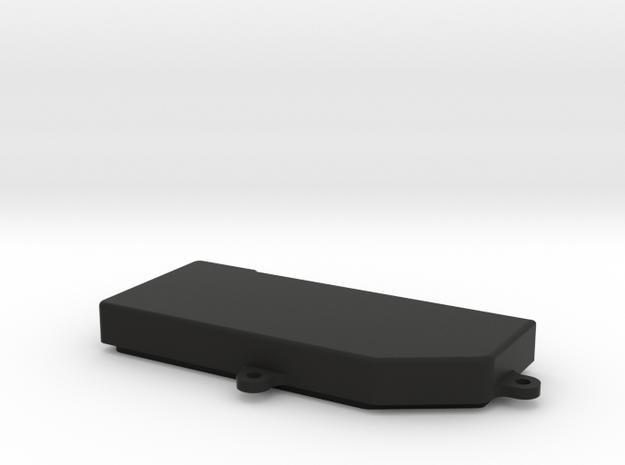 SCTE 3.0 Radio Box Top in Black Natural Versatile Plastic