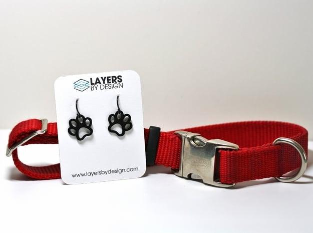 Paw Print Earrings - Small