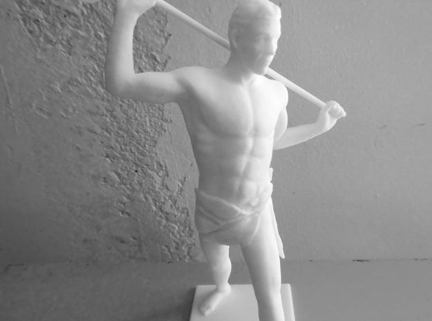 Young Poseidon in White Natural Versatile Plastic