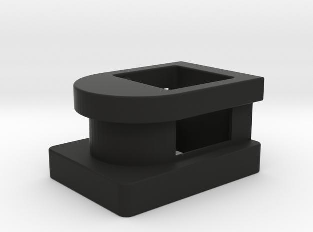 Detective Adapter in Black Natural Versatile Plastic