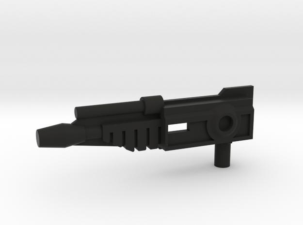 Nightbeat Gun Drivers Side in Black Natural Versatile Plastic