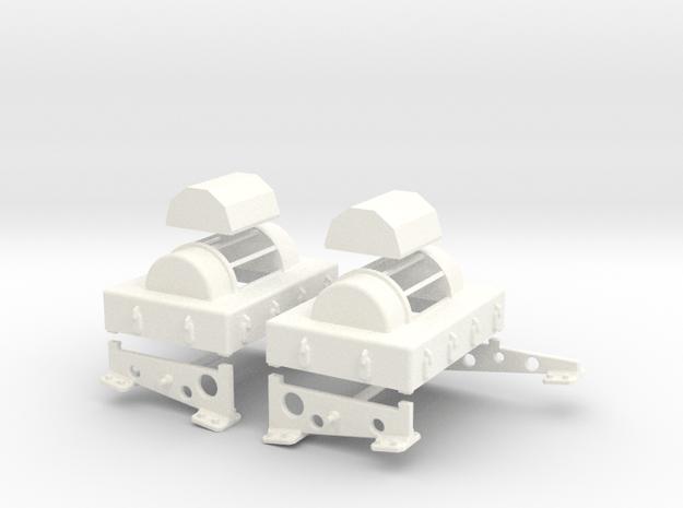 1.10 FLAIR CHINOOK in White Processed Versatile Plastic