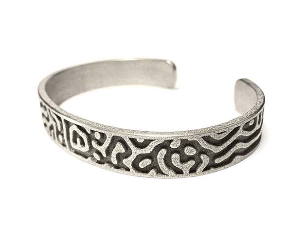 Diffusion Cuff in Polished Nickel Steel: Large