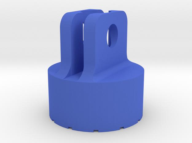 Niterider Lumina Action Cam Mount (Updated) in Blue Processed Versatile Plastic