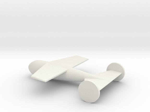 1/72 Scale DRAGON Radio-Control Gluide Bomb in White Natural Versatile Plastic