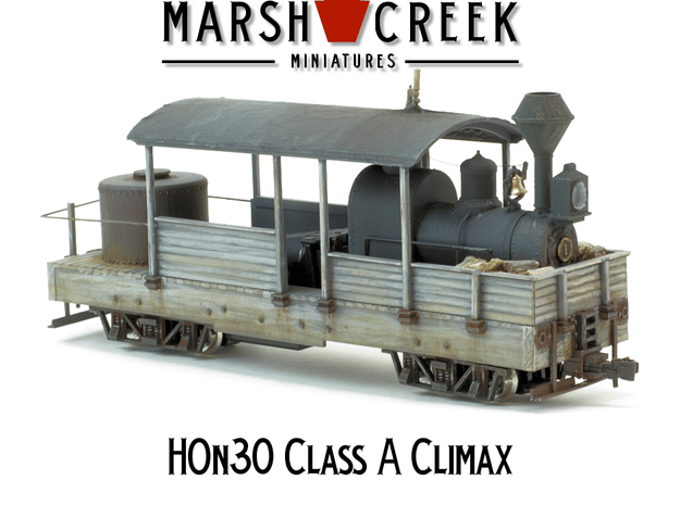 HOn30 Climax Class A