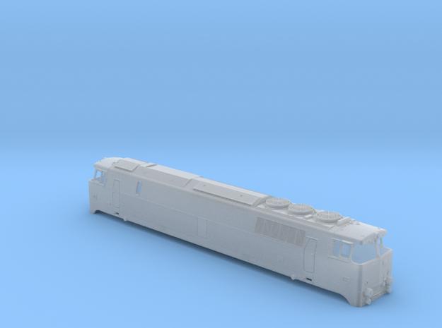 MZ III Diesel Electric locomotive  DSB  TT in Smooth Fine Detail Plastic: 1:120 - TT