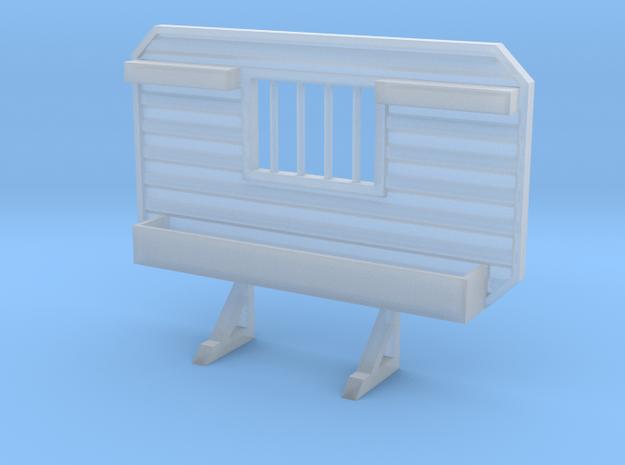 1/87 HO headache rack window chain hangers tray in Smooth Fine Detail Plastic