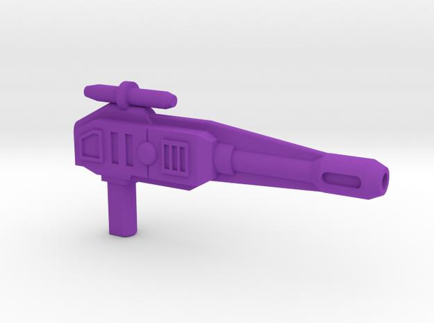 ZT01E Gun for Dragstrip CW in Purple Processed Versatile Plastic