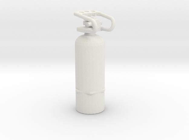 1/10 Scale Air Tank  in White Natural Versatile Plastic