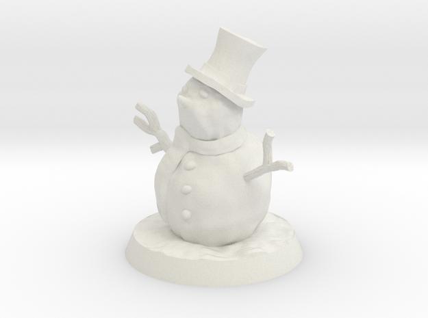35mm Scale Snowman
