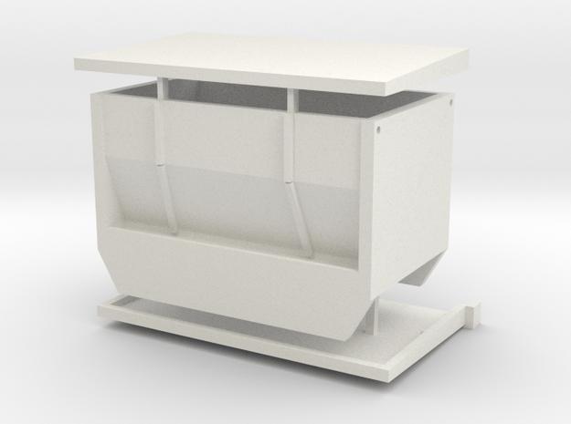 1/64 Steer Stuffer in White Natural Versatile Plastic