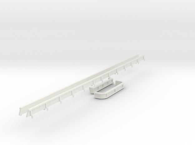 1/64 extension Aulick in White Natural Versatile Plastic
