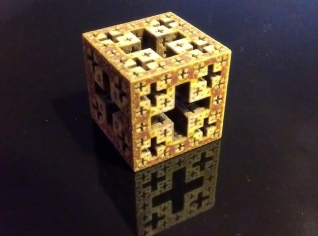 Jerusalem cube in Full Color Sandstone