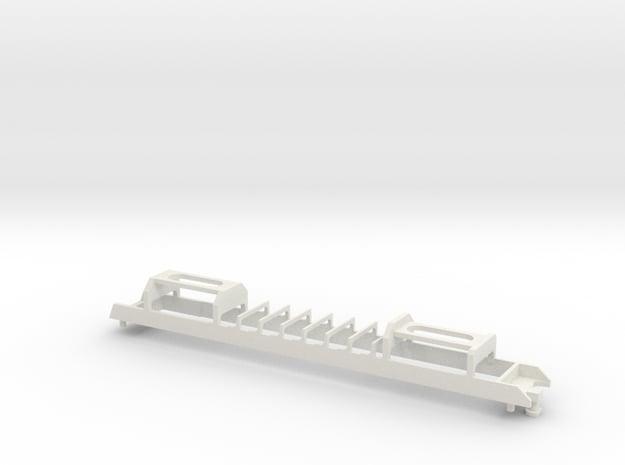 N04 - Optional Waratah Motor Chassis in White Natural Versatile Plastic