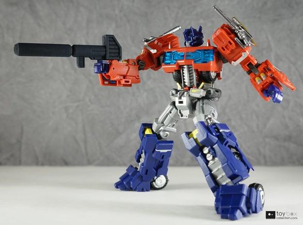Transformers CHUG Optimus Prime Blaster in Black Natural Versatile Plastic