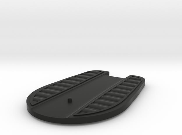 Hover Board (Disc) in Black Natural Versatile Plastic