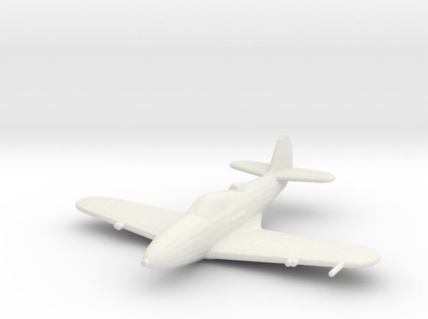 Bell P-39 'Airacobra' in White Natural Versatile Plastic: 1:200