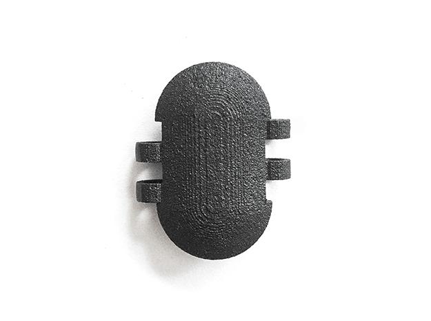KPS Outer Piece - Blank in Matte Black Steel